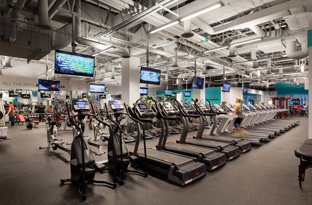 Photo from Steve Nash Fitness World Marine Gateway Vancouver